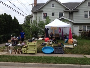 Our Semi-successful Yard Sale!
