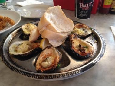 Oyster's Rockafeller